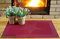 Подложка с оригинальным узором, подставка под тарелки 35см*40см, серветка сервірувальна