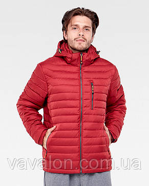 Куртка демисезонная Vavalon KD-908 Terracot, фото 2