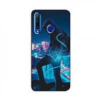 Чехол с печатью (Мода) для Huawei Honor 10i (AlphaPrint) (Хуавей ), фото 1