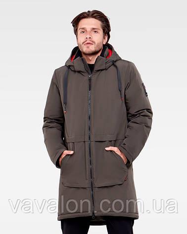 Зимняя мужская куртка Vavalon KZ-P910 Khaki, фото 2