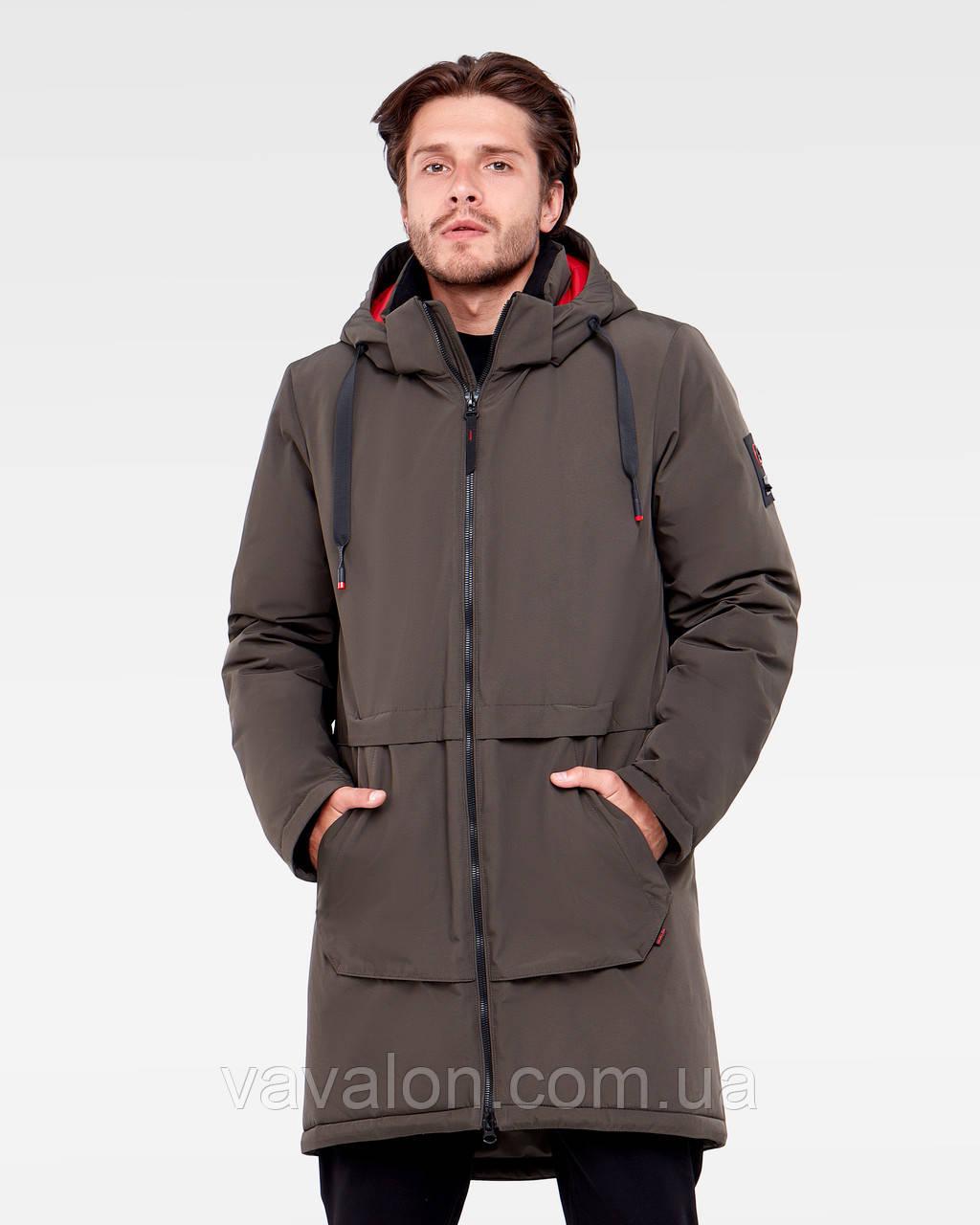 Зимняя мужская куртка Vavalon KZ-P910 Khaki