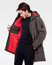 Зимняя мужская куртка Vavalon KZ-P910 Khaki, фото 3