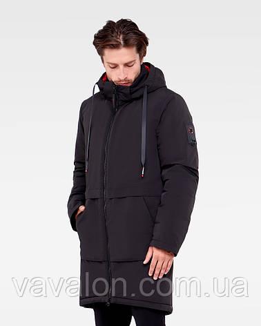 Зимняя мужская куртка Vavalon KZ-P910 black, фото 2