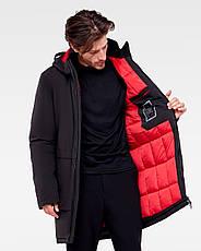 Зимняя мужская куртка Vavalon KZ-P910 black, фото 3