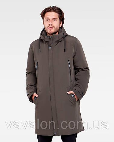 Зимняя мужская куртка Vavalon KZ-P909 Khaki, фото 2