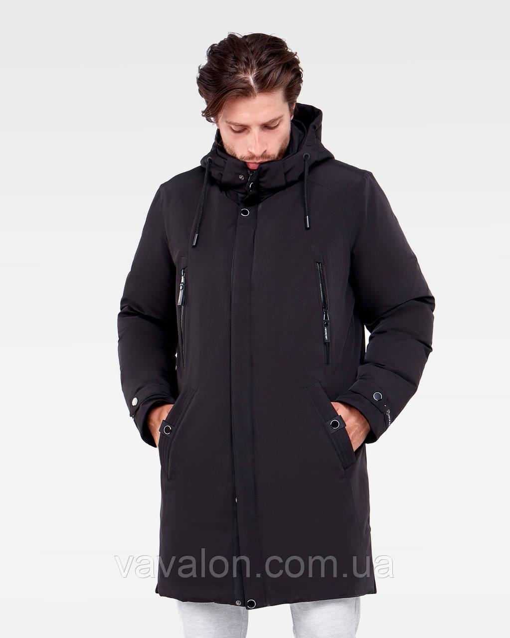 Зимняя мужская куртка Vavalon KZ-P909 black