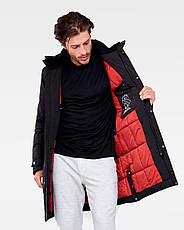 Зимняя мужская куртка Vavalon KZ-P909 black, фото 3