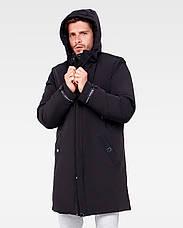 Зимняя мужская куртка Vavalon KZ-P909 black, фото 2