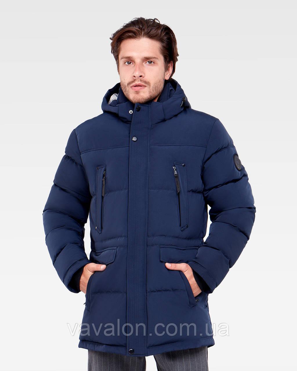 Зимняя мужская куртка Vavalon KZ-P904 navy