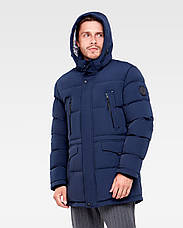 Зимняя мужская куртка Vavalon KZ-P904 navy, фото 3