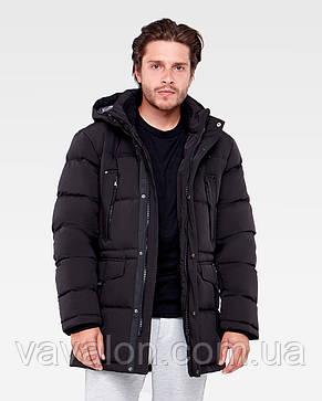 Зимняя мужская куртка Vavalon KZ-P904 Black, фото 2