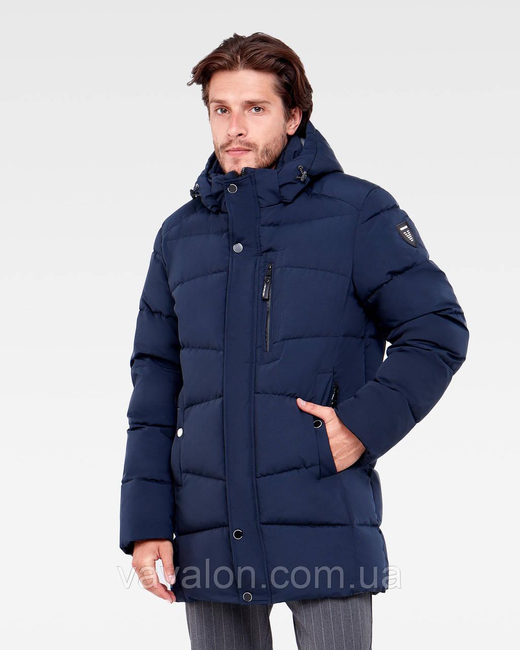 Зимняя мужская куртка Vavalon KZ-P248 navy