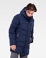 Зимняя мужская куртка Vavalon KZ-P248 navy, фото 2