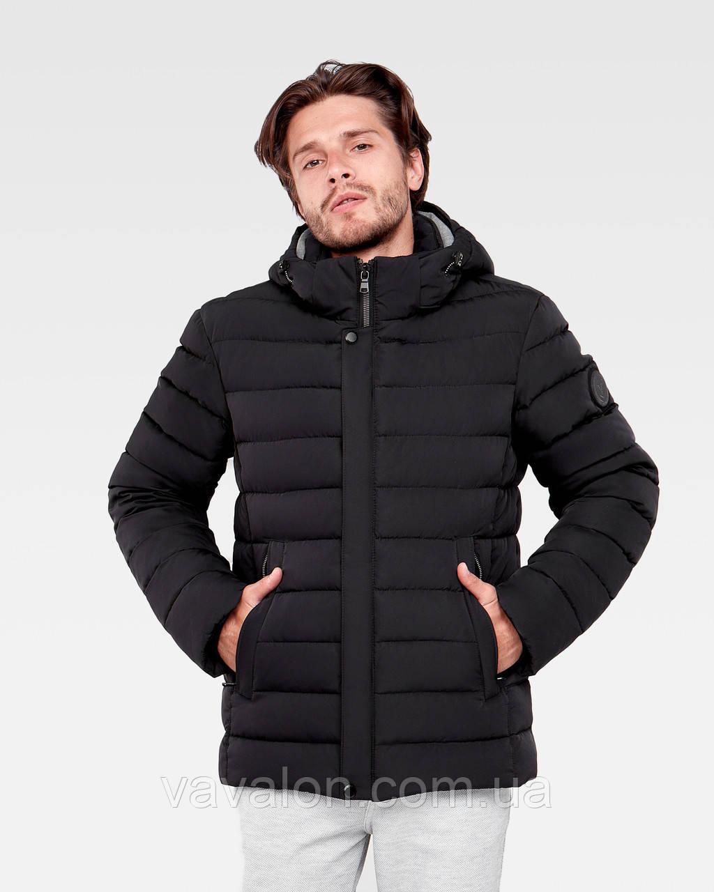 Зимняя мужская куртка Vavalon KZ-P247 Black