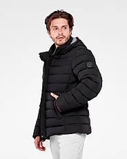 Зимняя мужская куртка Vavalon KZ-P247 Black, фото 2