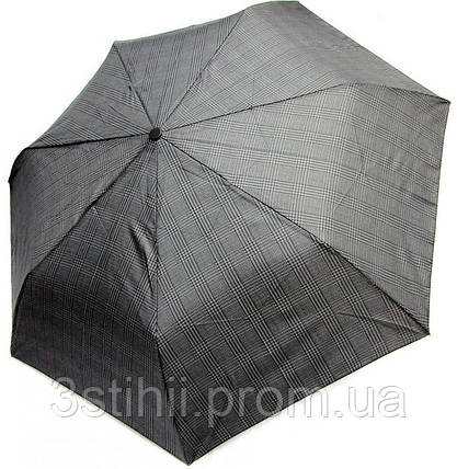 Зонт мужской Doppler 7441967-2 автомат Серый клетка, фото 2