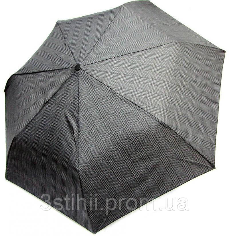 Зонт мужской Doppler 7441967-2 автомат Серый клетка