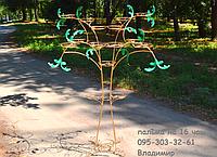 Пальма-3, подставка для цветов на 16 чаш, фото 1