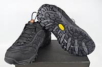 Кроссовки мужские MERELL 628-2 (реплика) текстиль чёрные, фото 1