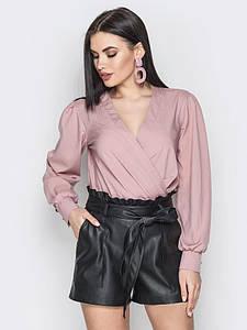 Блуза Angelina пыльная роза 000738 #O/V