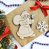 Дед Мороз. Заготовка для творчества из фанеры