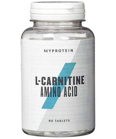 MyProtein L-carnitine 90 tab, фото 2