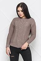 Свитер Jemchugsweater-1 Кофе 000392 #O/V