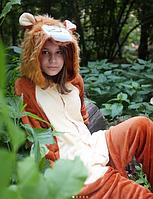 ✅ Детская пижама Кигуруми Лев 130 (на рост 128-138см)