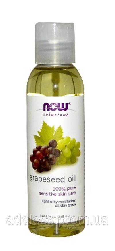 Масло Виноградных косточек NOW Foods Grapeseed Oil 100% pure, 118 мл.
