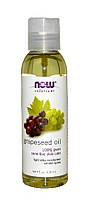 Масло Виноградных косточек NOW Foods Grapeseed Oil 100% pure, 118 мл., фото 1