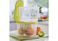 """Суперакция Контейнер """"Умный холодильник"""" 1.8 л высокий для длительного хранения овощей и салатов 2 шт"""