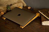 Офисный аксессуар подставка под ноутбук для охлаждения, Аксессуар из дерева для дома офиса в подарок мужу жене