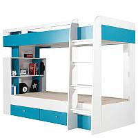 Двухъярусная кровать Mobi Meblar 117х165x227 (MOBI_19) 000379