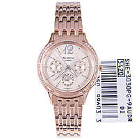 Женские часы CASIO Sheen SHE-3030PG-9AUER оригинал