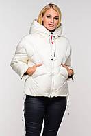 Женская удлиненная куртка-пуховик (не сбивается после стирки)