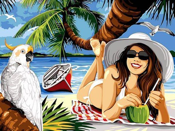 Картина за номерами 30×40 див. Babylon Довгоочікуваний відпустку (VK 050)