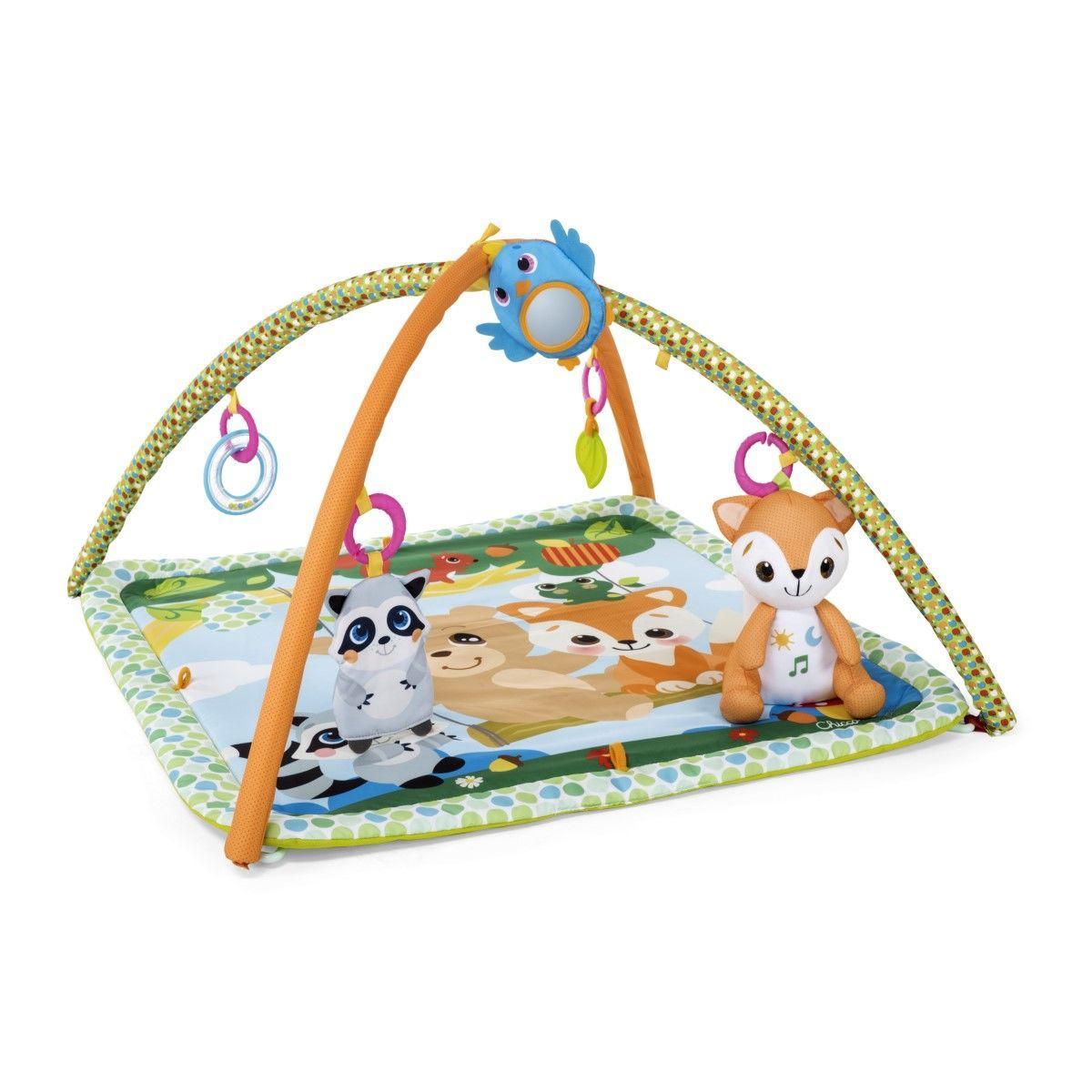 Детский развивающий коврик «Волшебный лес» Chicco 4598