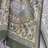 Рассказ о странствиях 1633-60, павлопосадский шарф шелковый крепдешиновый с шелковой бахромой, фото 3
