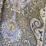 Рассказ о странствиях 1633-60, павлопосадский шарф шелковый крепдешиновый с шелковой бахромой, фото 4