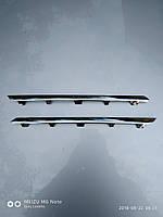 Хром (нікель) молдінг верхньої решітки бампера Рено Меган 3 13-16рр