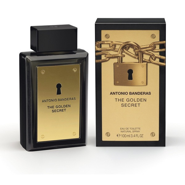 Мужские духи Antonio Banderas Secret Golden edt 100ml