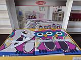 Комплект постельного белья  Hobby поплин размер полуторный Linda сиреневый, фото 2