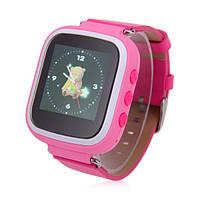 Детские часы с GPS Smart Baby Watch Q80 (Q60s) Розовые (ChAu10333)
