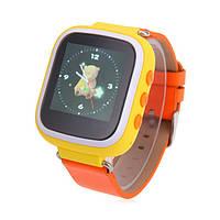 Детские часы с GPS Smart Baby Watch Q80 (Q60s) Желтые (nmdL63107)