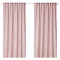 Шторы IKEA BERGPION 145x300 см Розовый (104.013.80)