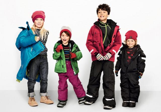 Зимние детские пальто и куртки