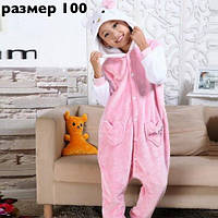 Пижама Кигуруми Хело Китти детская / Hello Kitty на рост 90-100 см
