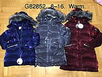Куртки утепленные для девочек оптом, Grace, 8-16 лет, № G82852