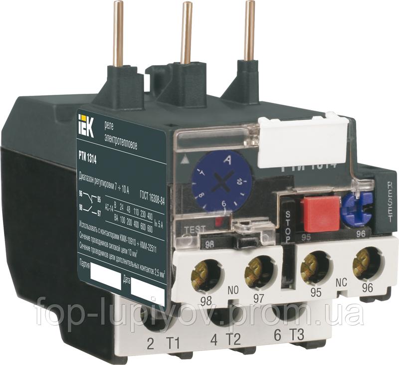 Реле РТИ-1316 электротепловое 9-13А, ІЕК