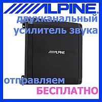 Автоусилитель звука усилитель автомобильный ALPINE BBX-T600 2*70 Вт на 2 Ом, 300 Вт макс.